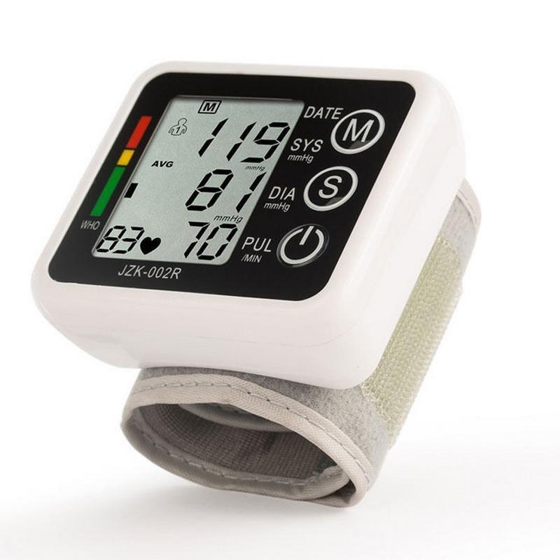 May do huyet ap, Máy đo huyết áp điện tử, Máy đo huyết áp tự động , Máy đo nhịp tim- Máy đo huyết áp cổ tay cao cấp, Chính xác + TẶNG KÈM HỘP ĐỰNG bán chạy