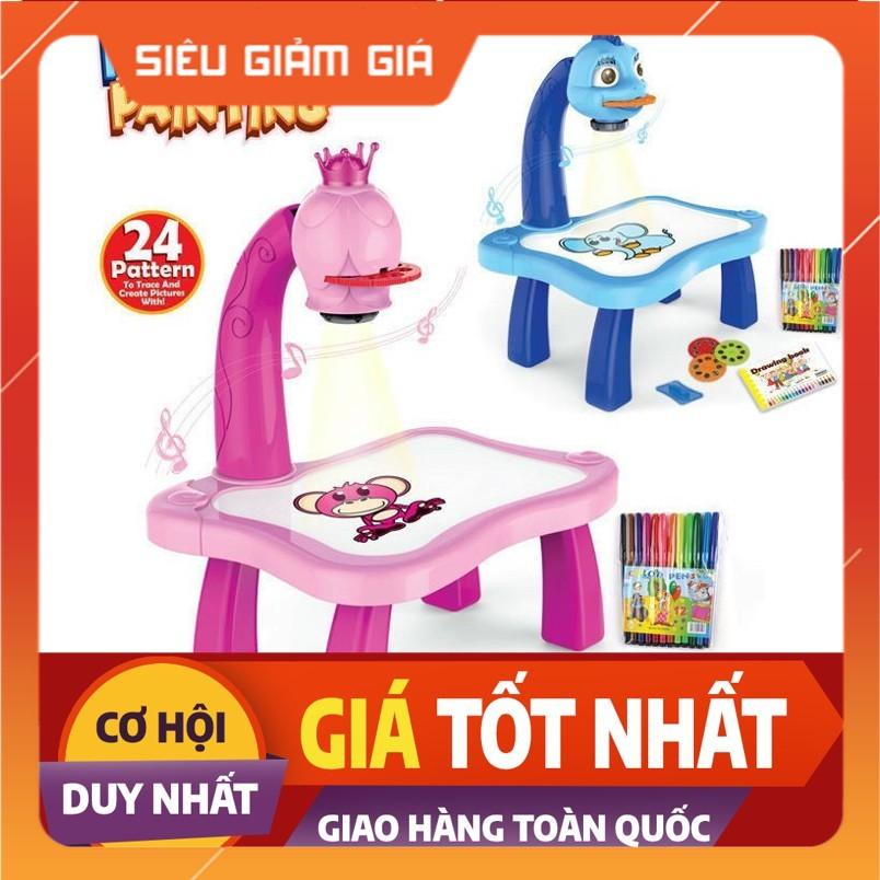 [ GIẢM 20K SHIP CHO MỌI ĐƠN HÀNG ] Bộ đồ chơi bàn vẽ 3D, bàn chiếu đa năng chiếu hình tập vẽ có đèn chiếu sáng thông mình cho bé, Bộ bàn đèn thông minh chiếu hình tập vẽ cho bé học vẽ