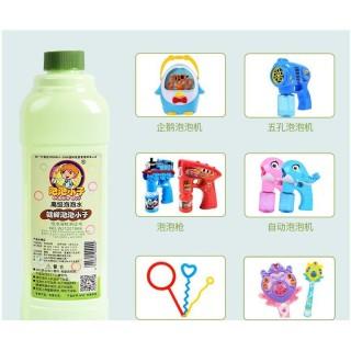 Chai nước thổi bong bóng xà phòng an toàn cho các bé thumbnail
