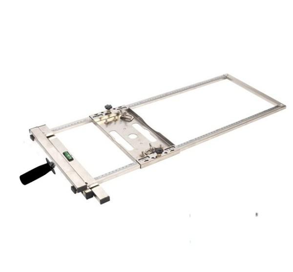 Khung cố định máy cắt gỗ cắt gạch bàn máy phay
