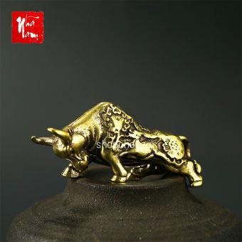 Tượng đồng phong thủy tượng bò tót trang trí vật phẩm phong thủy