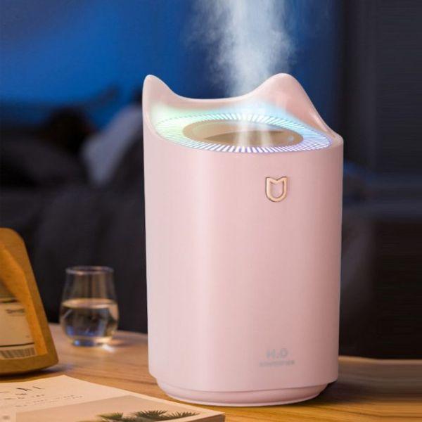 Máy phun sương dung tích lớn Humidifier (máy khỏe phun sương cả đêm không phải thay nước) cam kết hàng đúng mô tả chất lượng đảm bảo an toàn cho người sử dụng