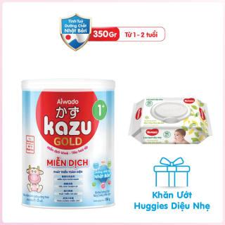 [Tinh tuý dưỡng chất Nhật Bản] Sữa bột KAZU MIỄN DỊCH GOLD 350g 1+ thumbnail