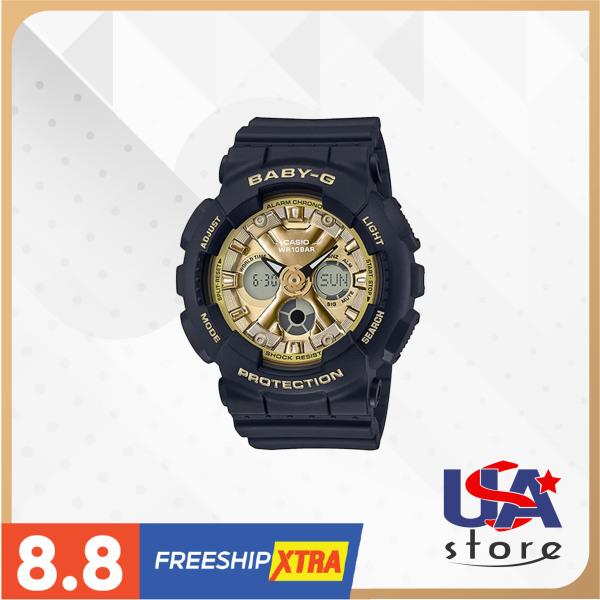 [Bình Dương] Đồng hồ nữ Casio G-Shock Baby-G BA130-1A3 46,3×43,3mm