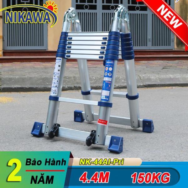 Thang nhôm rút đôi 4.4m NIKAWA NK-44AI-Pri Nhật Bản