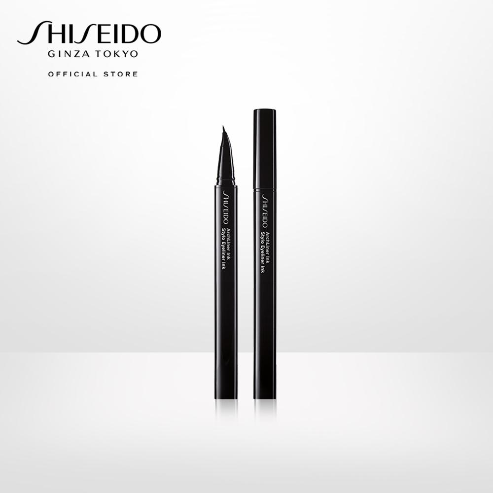 Bút kẻ mắt nước Shiseido Archliner Ink 01 - Shibui Black