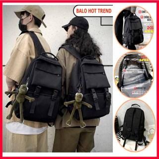 [ SIÊU PHẨM ] BALO đi học thời trang ULZZANG BASIC chống nước nhiều ngăn đựng vừa laptop, Balo ulzzang thời trang trơn chống nước thumbnail