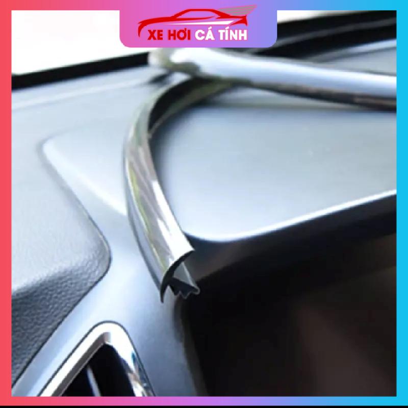 Bộ Gioăng cao su chữ T nẹp chân kính lái ô tô, phù hợp mọi loại xe