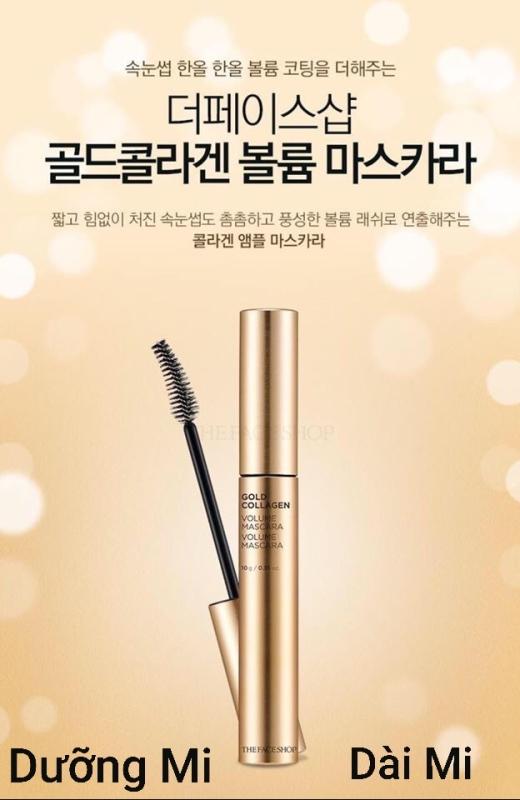 Mascara The Face Hàn Quốc( Tem Niêm Phong Chống Hàng Giả) cao cấp