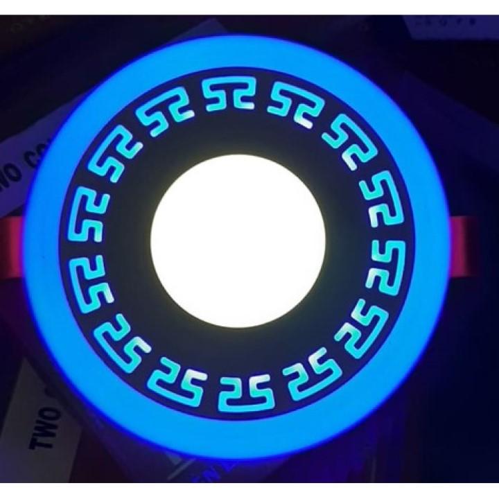 Đèn Âm Trần Viền Hoa Văn - Đèn Âm Trần 3 Chế độ Màu Thay đổi Màu Sắc Khi Bật Tắt - Bảo Hành đổi Mới 2 Năm Giá Ưu Đãi Nhất