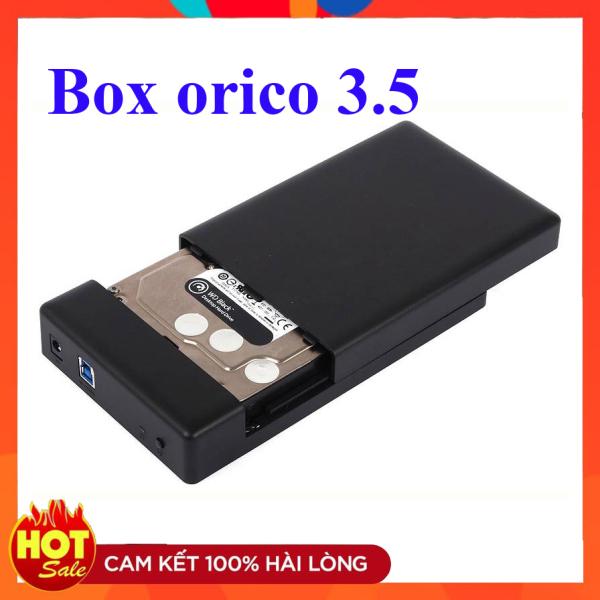 Bảng giá Hộp đựng ổ cứng 3.5 inch HDD Box Orico 3588US3 USB 3.0  kèm adapter Phong Vũ