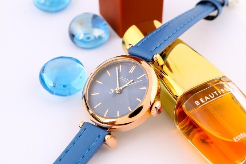 Đồng hồ nữ Julius JA-1018 dây da