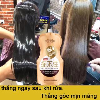 Mặt nạ tóc Glycerin Kem duỗi tóc [500g] bổ sung nước ,tóc dẻo dai phục hồi tóc khô và làm tóc dèo dải ,sáng bóng giữ hương thơm lâu dài thumbnail