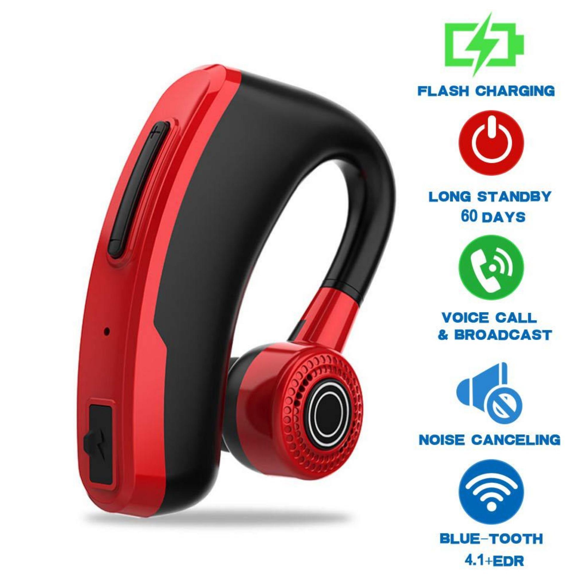 OrzBuy V10 Extreme Flash sạc chống mồ hôi chống nước Kinh Doanh Tai Nghe Bluetooth Xe Hơi Tai Nghe Chụp Tai Bluetooth Cầm Tay Có Mic tai nghe nhét tai Ear-Móc khóa Bluetooth Tai Nghe Không Dây dành cho IOS/Android Điện Thoại/Laptop/Máy Vi Tính