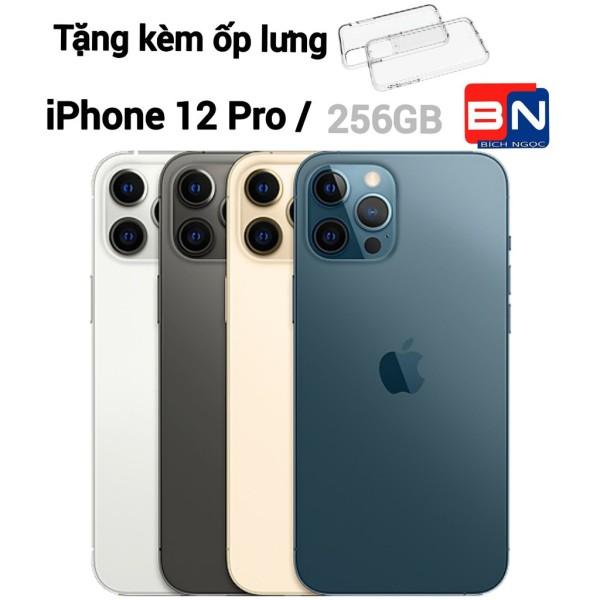 [HCM][Trả góp 0%]Combo Điện thoại Apple iPhone 12 Pro 256GB - Hàng nhập khẩu new 100% + Ốp lưng silicon chống va đập