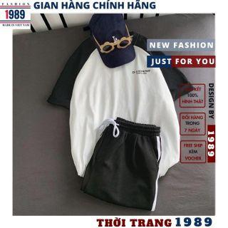 bộ thể thao nam nữ _unisex kiểu dáng hàn quốc nam nữ đều mặc được thỏa mái rất xinh kute đáng yêu ,thời trang 1989 5