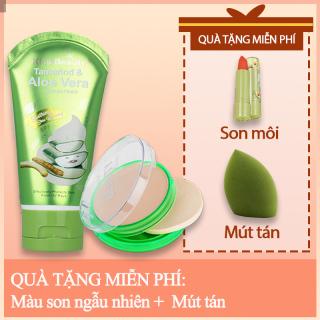 [HCM]kiss belle- Bộ mỹ phẩm 2 món- Phấn nền+Kem nền dạng lỏng Quà tặng miễn phí son môi (màu ngẫu nhiên) +Mút tán thumbnail