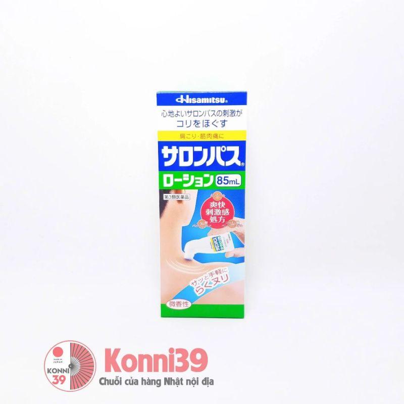 Lăn giảm đau Salonpas Hisamitsu 85ml cao cấp