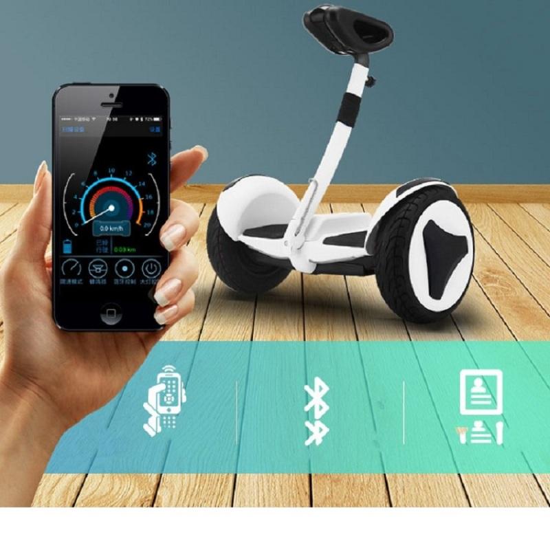Phân phối Xe điện cân bằng Mini Robot - Xe Điện Cân Bằng Thông Minh - Điều Khiển Bằng Điện Thoại Qua Ứng Dụng - Bluetooth, đèn led, tay xách thuận tiện