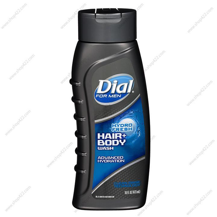 Dial - Sữa Tắm Gội Dial For Men Hydro Fresh 473ml nhập khẩu