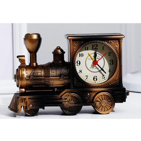 Nơi bán ĐỒNG HỒ ĐỂ BÀN Hình Đầu Tàu -  4 màu - Mẫu đồng hồ để bàn, đồng hồ báo thức hot nhất - DH66
