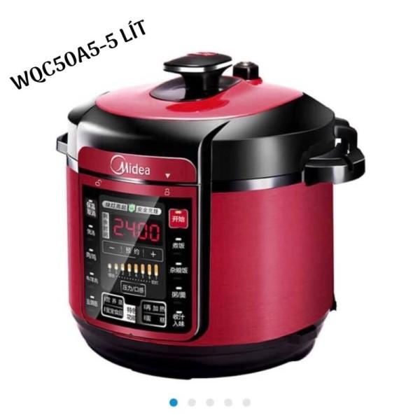 Nồi áp suất điện tử Midea WQC50A5 dung tích 5 lít gồm 2 ruột nồi