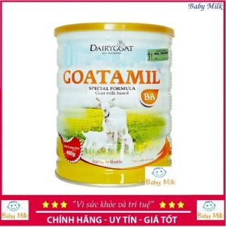 Sữa dê Goatamil BA 400g cho trẻ biếng ăn, nhẹ cân 6-36 tháng (date 05 2021) thumbnail