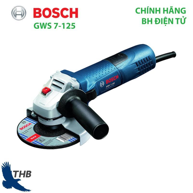 Máy cắt cầm tay Máy mài góc Bosch GWS 7-125 Công suất 700W Bảo hành điện tử 12 tháng