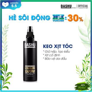 Keo xịt tóc tạo kiểu Hàn Quốc phù hợp với mọi chất tóc chính hãng Dashu Daily Ultra Holding Scalp Spray 200ml , giữ nếp lâu, bảo vệ da dầu, làm sạch gàu, giảm tình trạng rụng tóc, tạo độ phồng  dành cho nam.