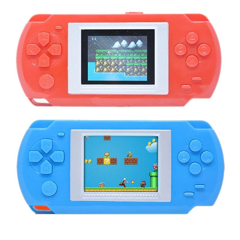Máy chơi game cầm tay HKB-505 đa dạng 268 trò chơi màn hình màu 2 inch sử dụng pin AAA - Đồ chơi trẻ em - Đồ chơi cho bé trai - Đồ chơi trẻ em gái cute - Máy game cầm tay - Thế giới đồ chơi cho trẻ phát triển trí tuệ