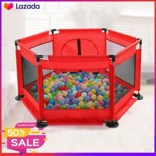Lều bóng, Cũi bóng, Nhà bóng khung thép không rỉ ( Tặng kèm 10 bóng) thích hợp cho bé từ 6 tháng tuổi thumbnail