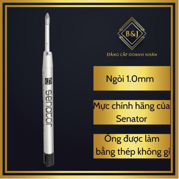 Mua B&J – Ống mực bi cao cấp Senator 1.0mm dành cho bút bi xoáy ( vặn) ngòi, mực chính hãng của Đức