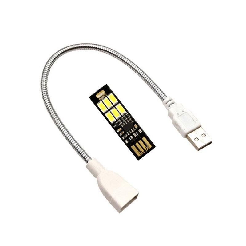 Bảng giá Đèn LED USB Sử Dụng Cảm Biến Chạm(Touch Sensor) Bật Tắt Và Điều Chỉnh Ánh Sáng Phong Vũ