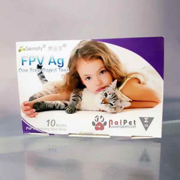 Que Test Xét Nghiệm Bệnh Giảm Bạch Cầu Mèo FPV