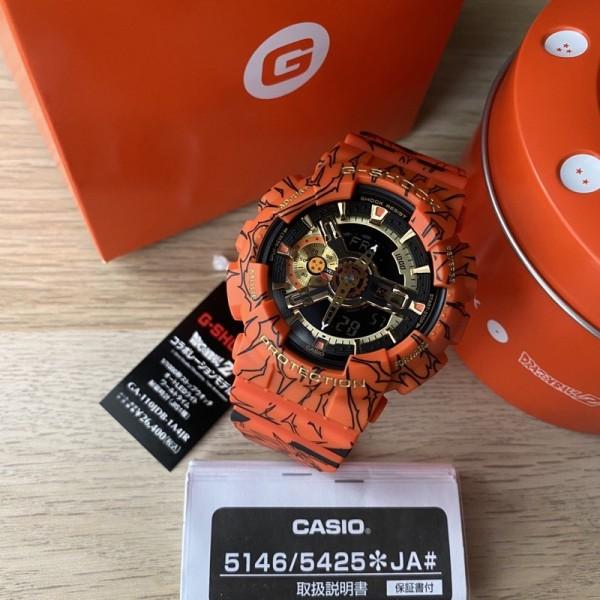 Nơi bán Đồng Hồ Casio G-Shock Dragon Ball Z GA-110 - Đồng hồ G Shock thể thao nan phiên bản giới hạn - Đồng hồ Casio