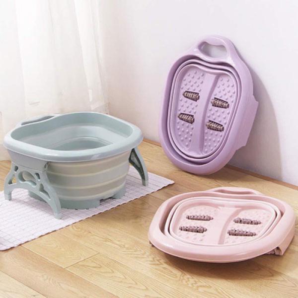 Chậu Rửa, Massage Chân Gấp Gọn Tiện Lợi