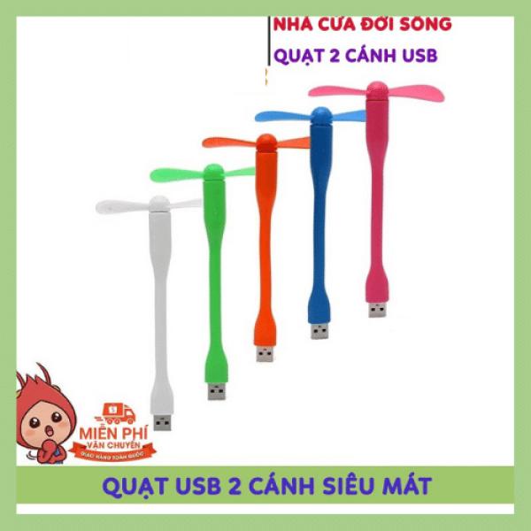 Bảng giá Quạt USB 2 Cánh Rời Cắm Máy Tính, Sạc Dự Phòng, Củ Sạc Điện Thoại, Siêu Mát - Siêu Tiện Dụng Phong Vũ