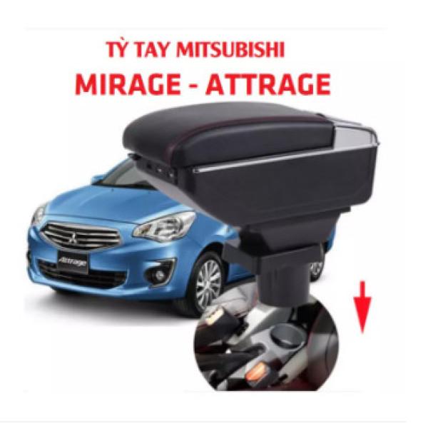 Hộp tỳ tay xe ô tô Mitsubishi Attrage Mirage