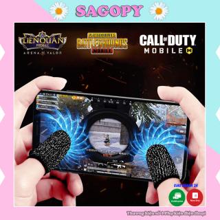 Bao tay chơi game ff chống mồ hôi tăng độ nhạy, găng tay, ngón tay chơi game free fire, pubg, liên quân Sagopy thumbnail