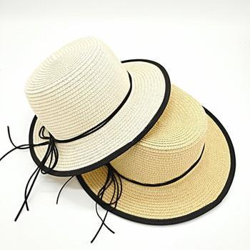 Mũ cói nơ dây viền rộng vành, nón cói đi biển,du lịch thắt nơ siêu xinh, dễ thương (nhiều mẫu)