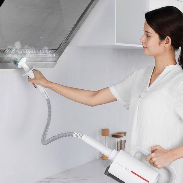 [HCM]Máy vệ sinh hơi nước cầm tay đa chức năng Deerma multifunctional steam cleaner - ZQ600