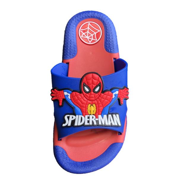 Dép lê trẻ em bé trai siêu nhân người nhện spider man cao su mềm giá rẻ