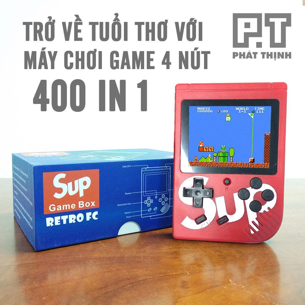 Máy chơi game cầm tay Retro FC 400 in 1 – Màn hình 3 inches