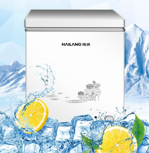Tủ đông lạnh Hailang 108L- Tủ trữ sữa mẹ- tủ bảo quản thực phẩm- Bảo hành 1 năm