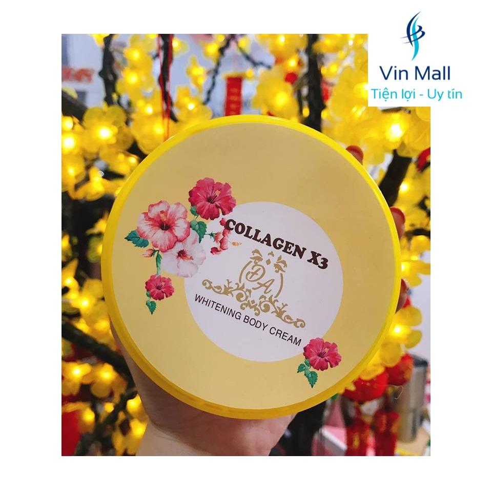 Kem Body Dưỡng Trắng Da Collagen X3 (Hộp 300 gram)