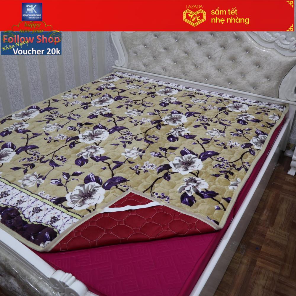 Tấm Trải Giường Chần Bông Đa Năng (Dùng Thay Nệm, Chiếu,Ga) Kích cỡ :1m6x2m