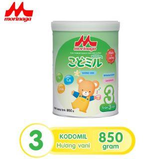[ HSD 6 tháng] Sữa Morinaga Số 3 Kodomil Cho Bé Từ 3 Tuổi - Hương vani 850gr - HSD T03 2022 (không đai đổi quà) thumbnail