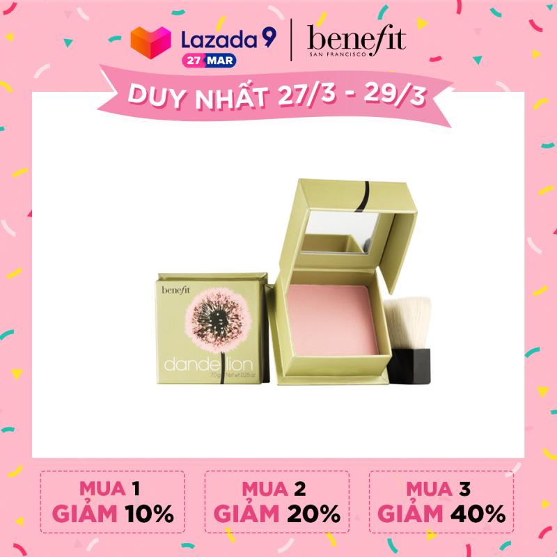 Phấn má hồng Benefit Dandelion Blush Mini 3.5g