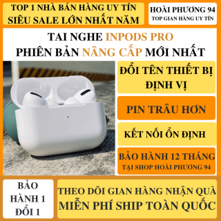 Tai Nghe Bluetooth Phiên Bản Pro Nâng Cấp Thế Hệ Mới Chip 5.0 Cực Hot, Pin Trâu, Mic Đàm Thoại Hỗ Trợ Mọi Dòng Máy, Tai Nghe Bluetooth Mini, Tai Nghe Bluetooth Khong Day, Tai Nghe buetooth Nhét Tai thumbnail