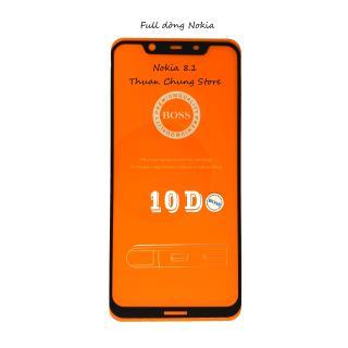 Kính cường lực 5D full keo đủ dòng Nokia 2.1, 3, 3.1, 5, 5.1, 6, 6.1, 6.1plus, 7, 7Plus, 8, X5, X6 thumbnail